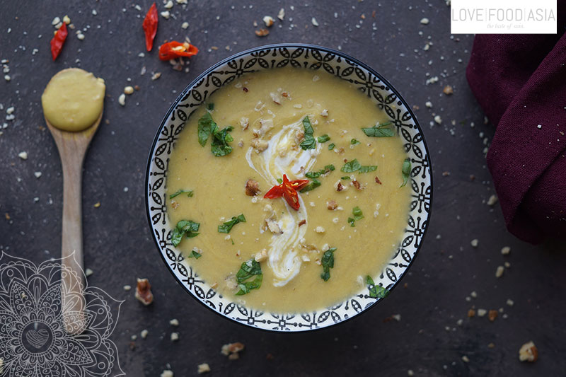 Asian Winter Parsnip Soup