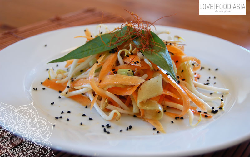 Asian Carrot & Sprout Summer Salad