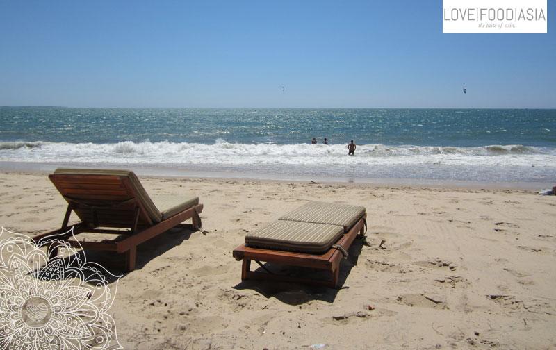 Der Strand von Mui Ne