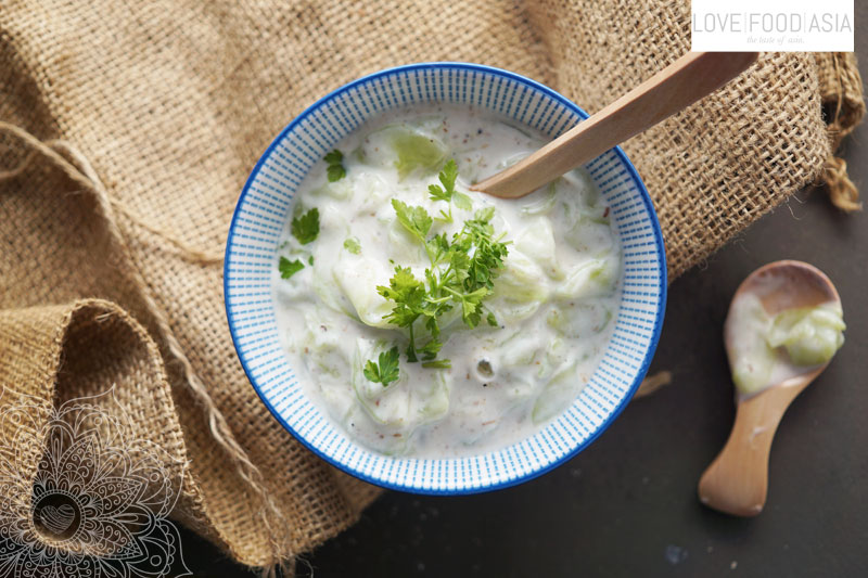 Indian Cucumber Raita