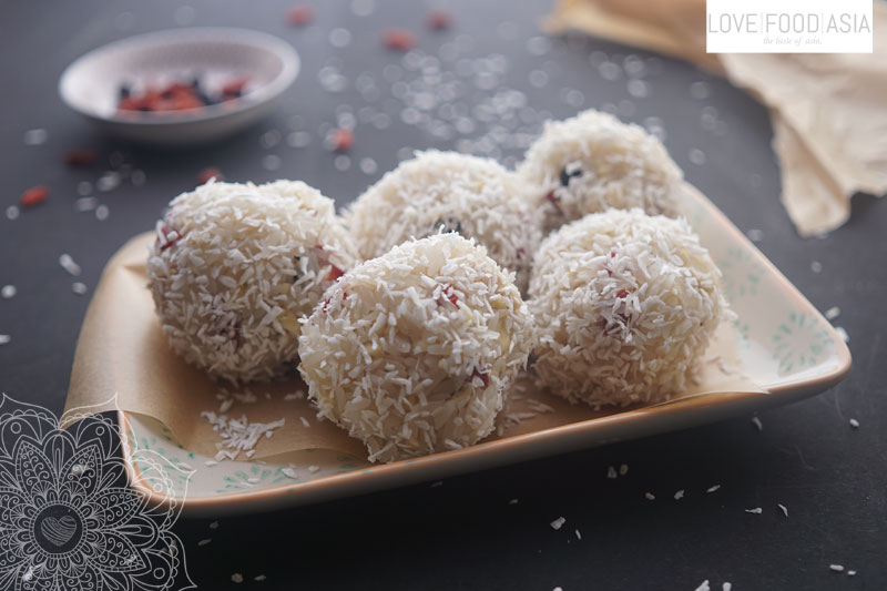 Sticky rice energy bombs