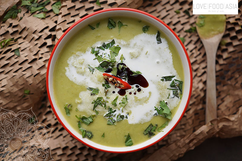 Asian Green Peas Soup