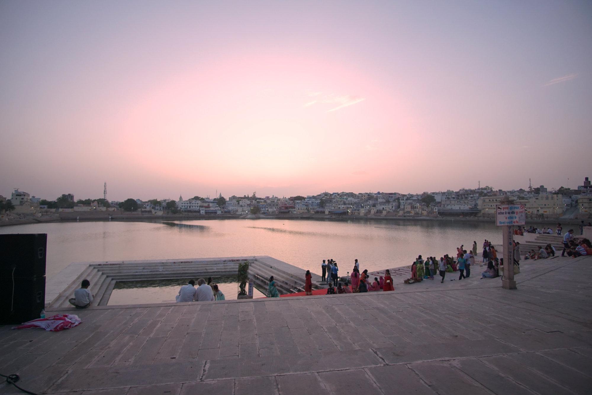 Der heilige See von Pushkar
