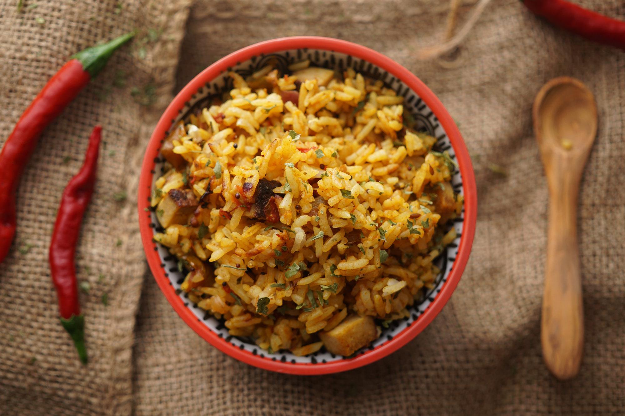 Indischer Masala Reis