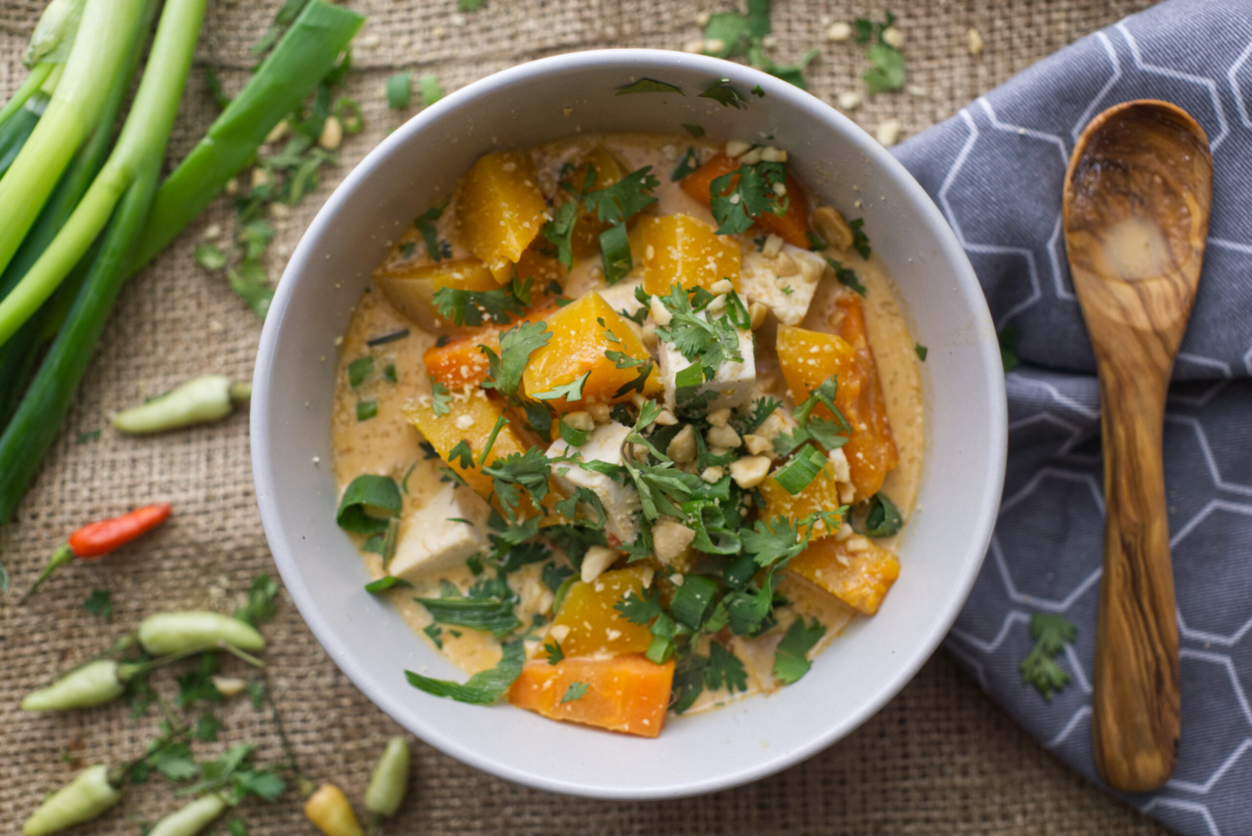 Red Thai Curry with Butternut